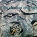 Sort blue stripe & black tubes