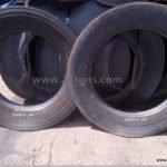 Cut tire rings