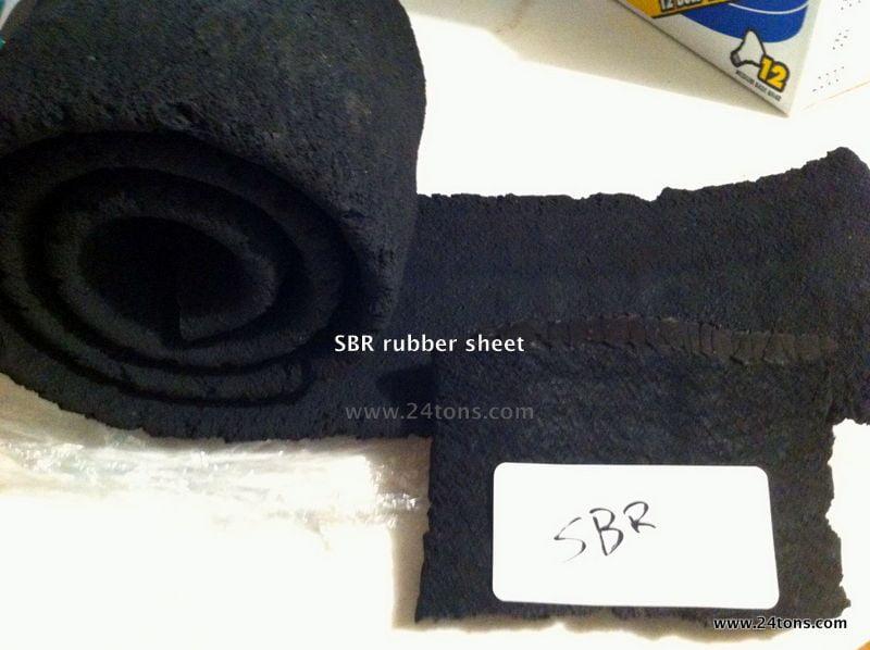 SBR Devulccanized non-tire rubber 24Tons