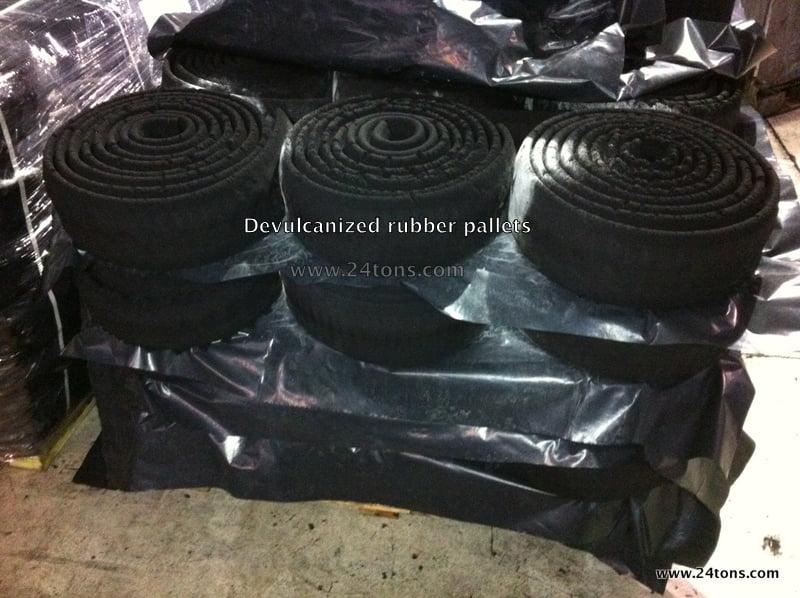 Mechanically De Vulcanzied Rubber 24tons Inc 24tons Inc