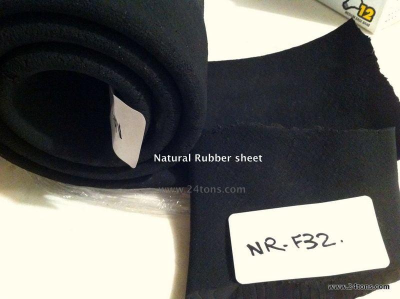 Natural rubber devulcanized