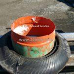 Fabricated tire ring bundles