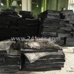 EPDM Reclaimed rubber black slabs de-vulcanized epdm