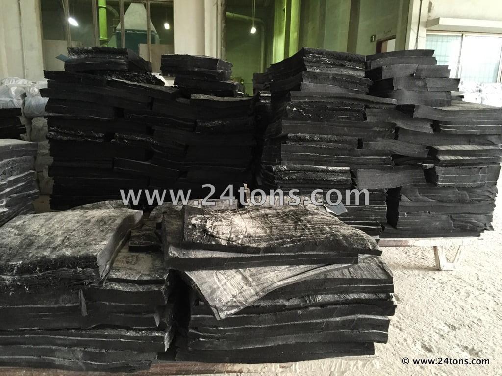 Reclaimed uncured Butyl rubber