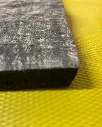 De-vulcanized EPDM reclaim rubber masterbatch