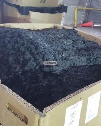 Scrap masterbatch tire compound