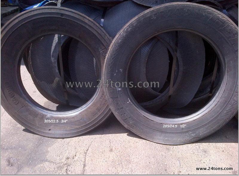 Semi tire sidewalls