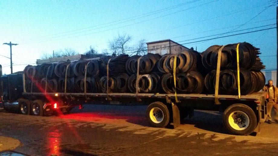Semi tire sidewalls truckload supplier