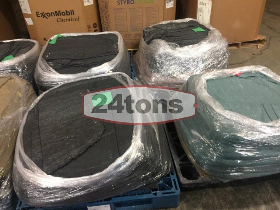 Unvulcanized SBR mixing Clean out rubber scrap